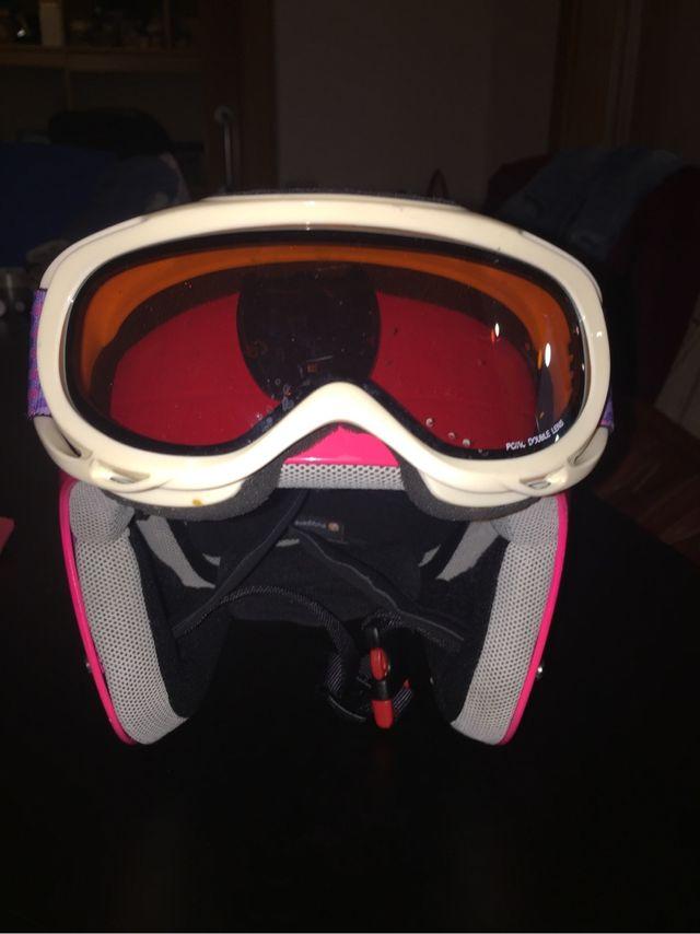 Casco esquiar