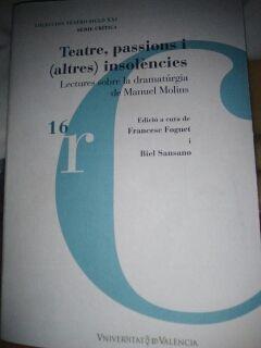Libro: TEATRE PASSIONS I ALTRES INSOLENCIES