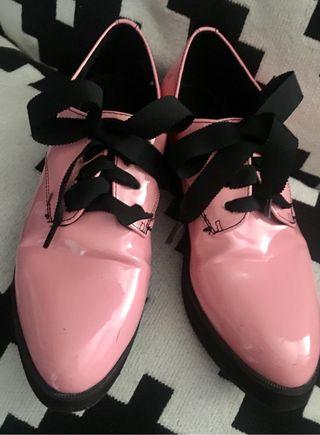 """Zapato tipo """"blucher"""" T.36"""