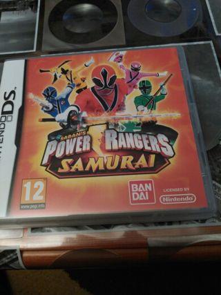 power ranger samurai nintendo