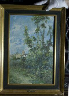 pintura antigua siglo XIX