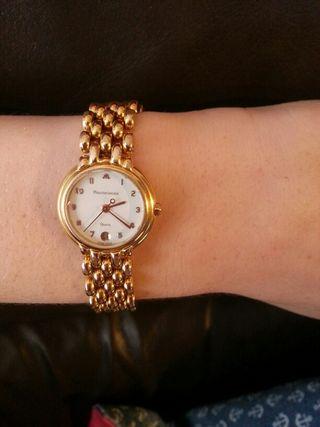 reloj chapado oro maurice lacroix