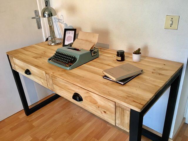 escritorio mesa industrial chu de segunda mano por 310 On mesa escritorio segunda mano