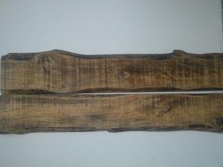 Cabezal de madera de pino arbo