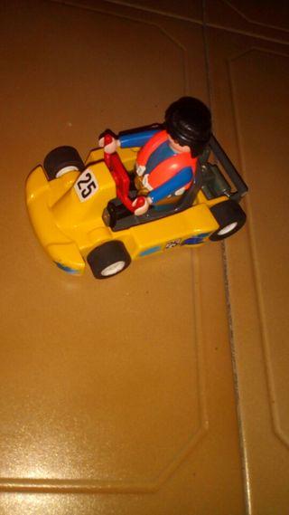 coche de carreras o car playmobil
