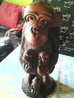 mono madera
