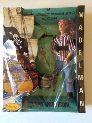 Madelman pirata original
