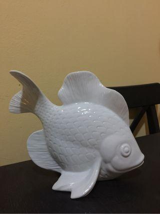 Figura ceramica pez