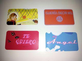 tarjetas mensaje doble