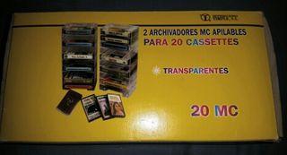 Archivador metracrilato cassettes