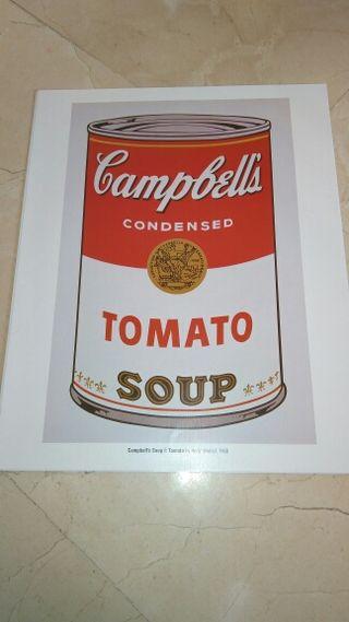 Laminas Andy Warhol
