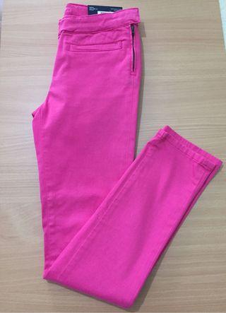 Pantalon rosa tommy hilfiger