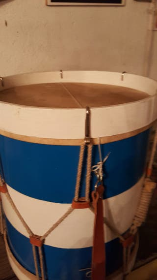 Tambor Rociero madera