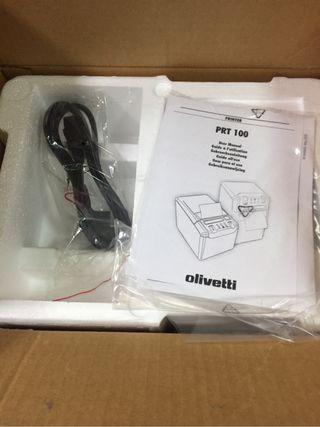 Impresora tickets olivetti PRT
