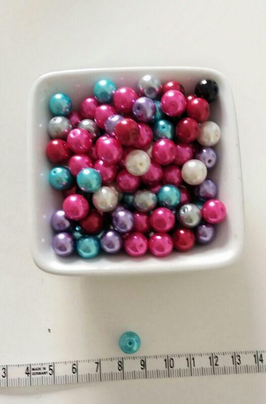 material bisutería / perlas de colores