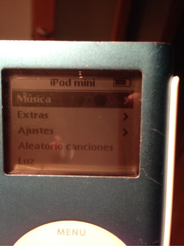 Apple ipod mini 6gb azul