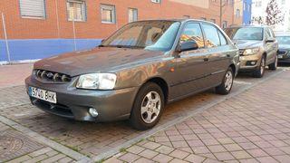Hyundai Accent 2001 gasolina