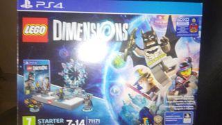 lego dimensions juego completo mas portal+figuras.