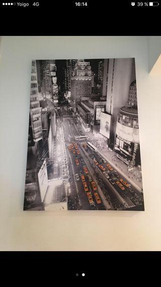 Cuadro de new york medida 50x70