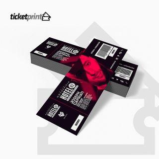 Impresion de Entradas y Tickets de Falla/Rifa...