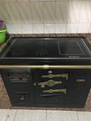 Cocina le a de segunda mano en la provincia de pontevedra for Cocinas de lena hergom de segunda mano