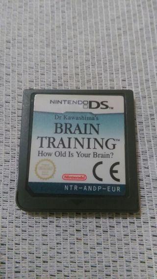 Brain Training Juego de Nintendo Ds