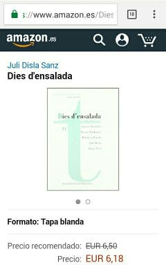 Libro : Dies d,ensalada.