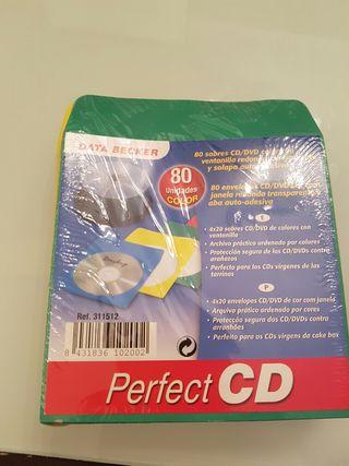 Fundas de papel para CD