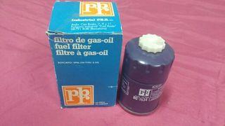filtro gasoil coche combustible pbr bg 1534