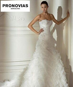 vestido novia pronovias 2008 donaire