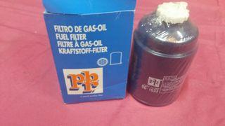 filtro gasoil coche combustible pbr bg 1533
