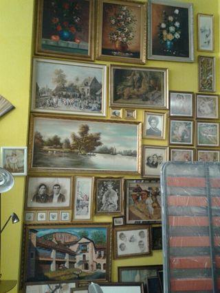 Cuadro lienzo de segunda mano por 99 en zaragoza wallapop - Wallapop muebles antiguos ...
