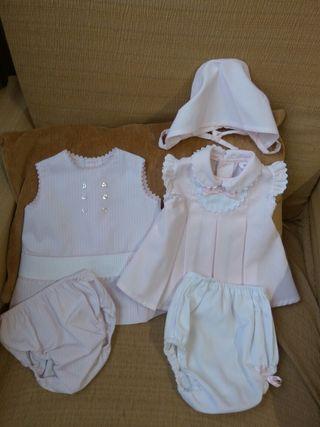 vestidos de niña lote de dos