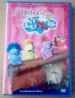 """DVD de """"Los Lunnis"""""""