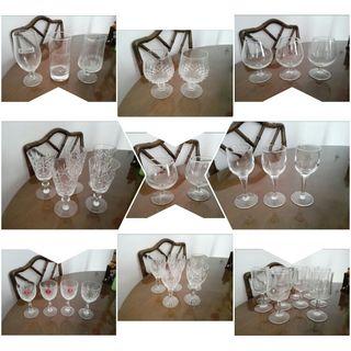 lote de 37 vasos
