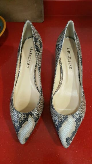 Zapatos pitón Ursulitas n° 40