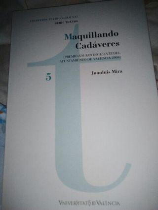 Libro: MAQUILLANDO CADAVERES (En papel)