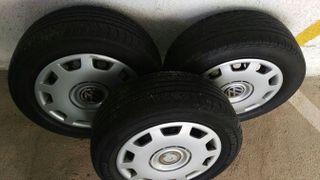 ruedas completas.