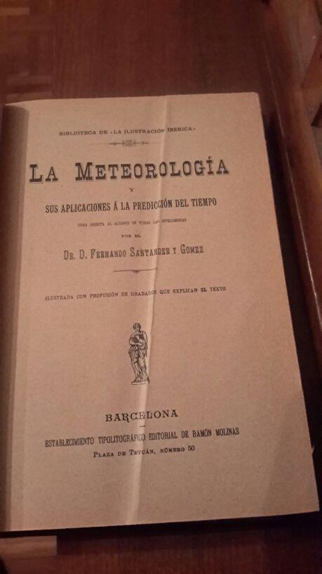 La metereologia libro sigloXIX