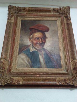 lienzo Raffaele frigerio 1930