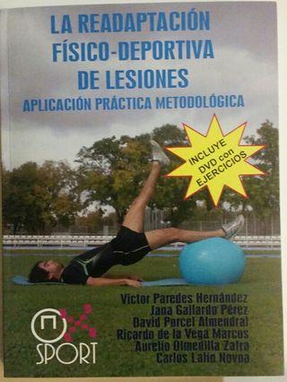 Libro readaptación de lesiones+DVD