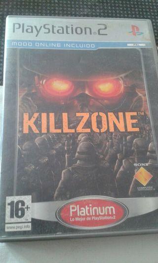 killzone ps2 versión platinum