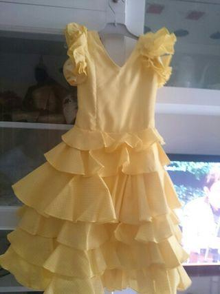 vetido flamenca niña
