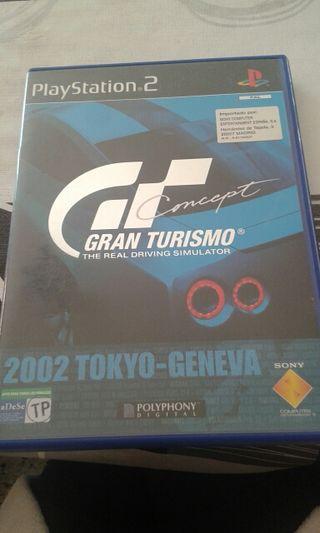 gran turismo concept ps2 2002 Tokyo-Geneva