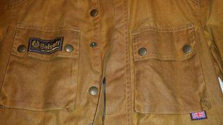 chaqueta Belstaff Gold Mujer.