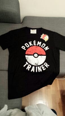 Camiseta Entrenador Pokemon Talla L