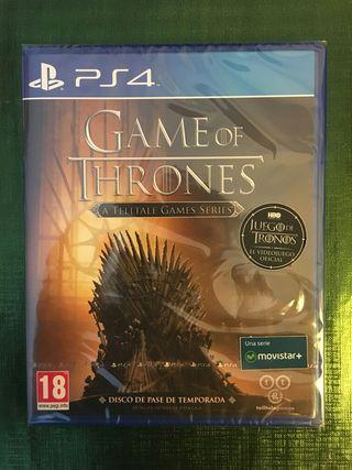 Game Of Thrones PS4 PRECINTADO!!!