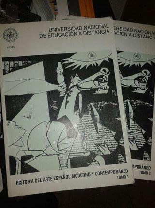 Historia del arte español moderno y contemporáneo.