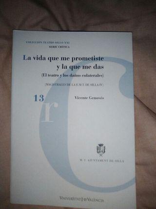 Libro La vida que me prometiste y la vida que me
