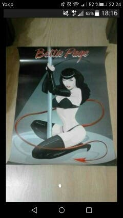 Poster Bettie Page